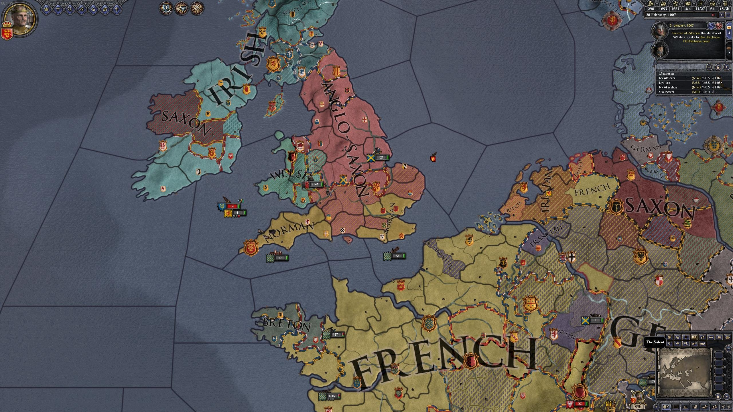 CK2 AAR - English Conquest of England - After Action Report