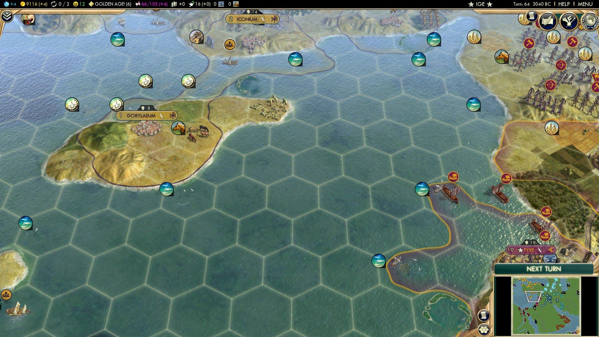Civ Hybrid Game Mk VII Part Three: Border Gore - After