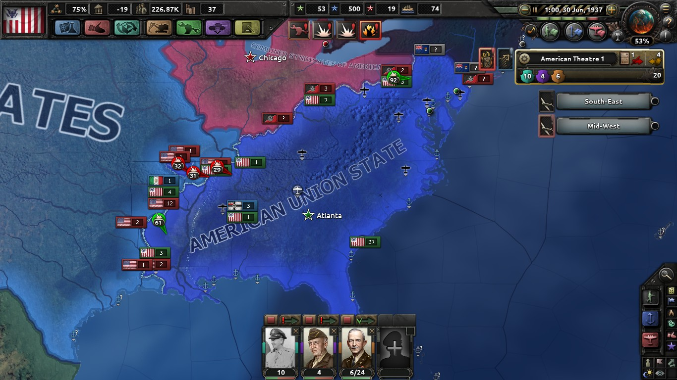 The Kingfish (A HOI4 Kaiserreich American AAR) - Part 3: Operation