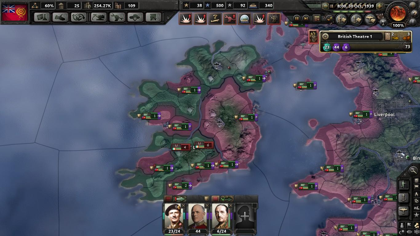 Homage to Britannia: An HOI4 Kaiserreich AAR | Part Six: On