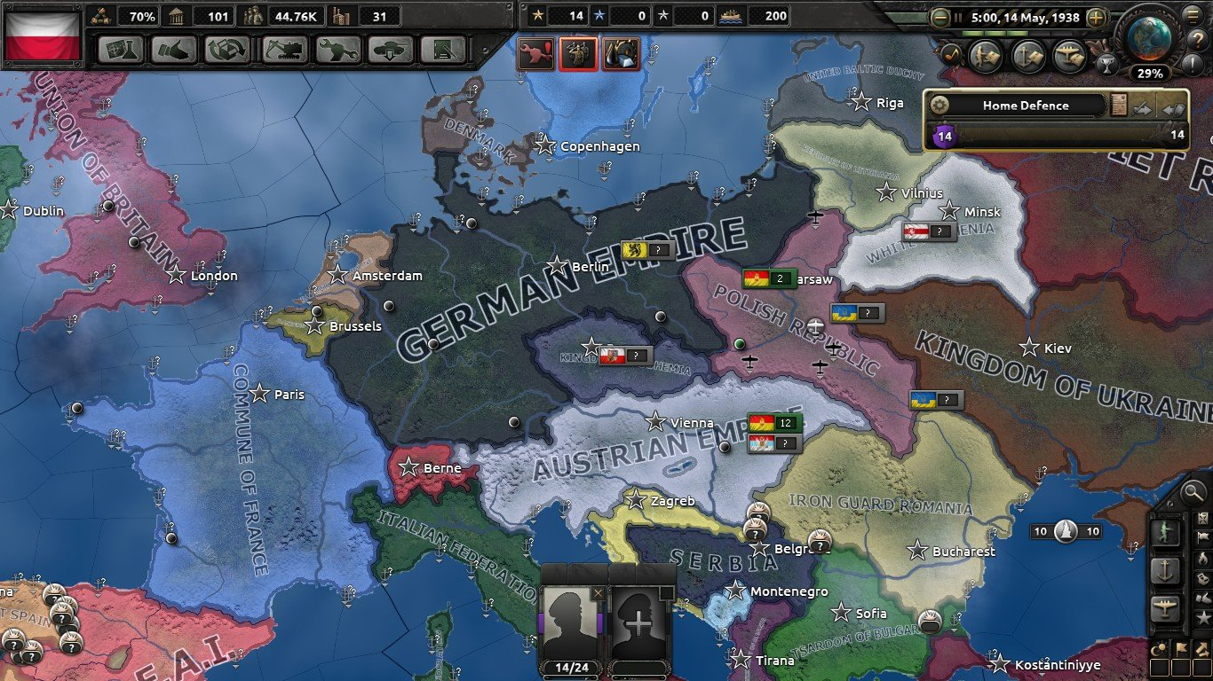 The Constitution Day War: Poland, 3rd of May 1938-17th of