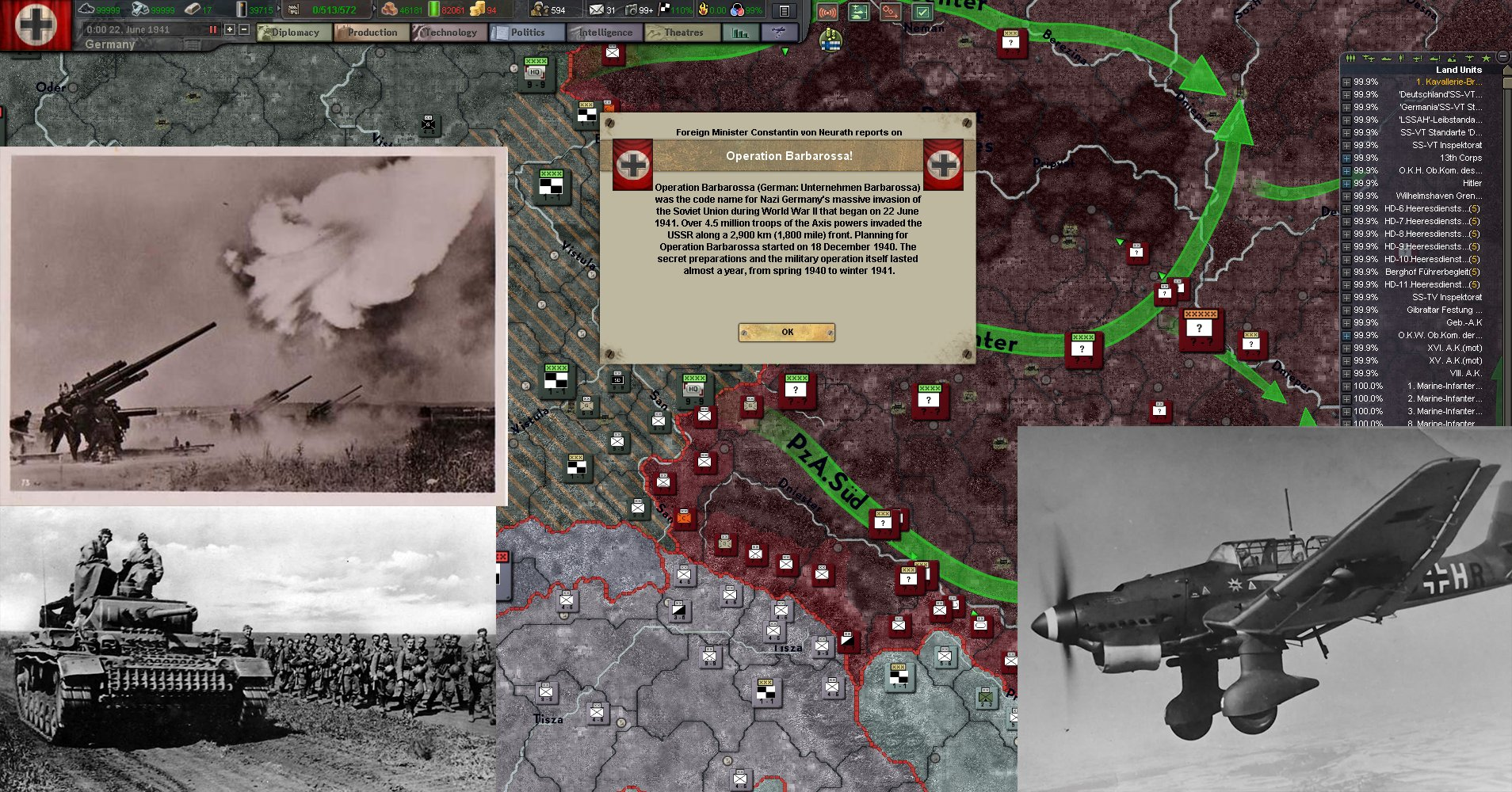 taking a look at operation barbarossa The germans were quite good at handing the soviets their heads when on the defensive, look at the sad fate of operation mars more importantly, this would have avoided a fatal crippling amount of wear and tear on the german luftwaffe.