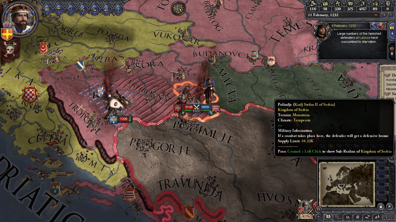 Imperium Romaniae (A CK2 HIP Latin Empire AAR) - Chapter 3