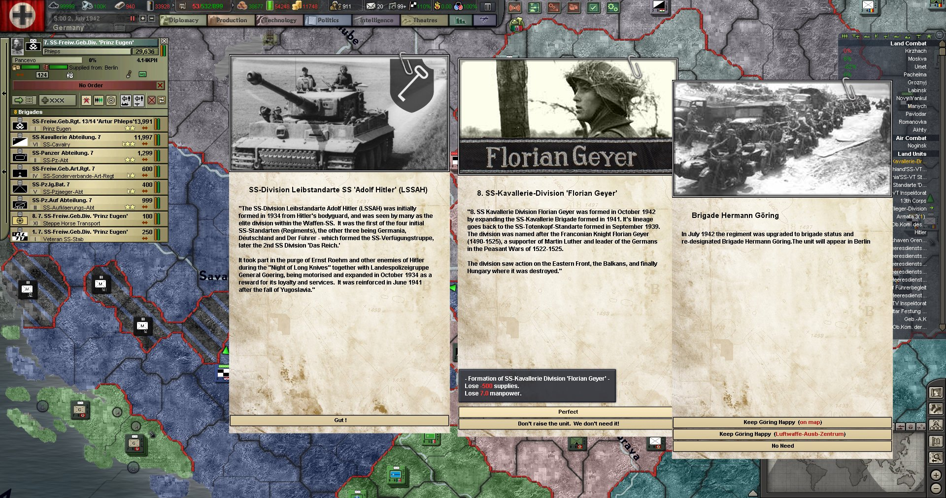 The Thousand Year Reich : Chapter 9, Operation Edelweis