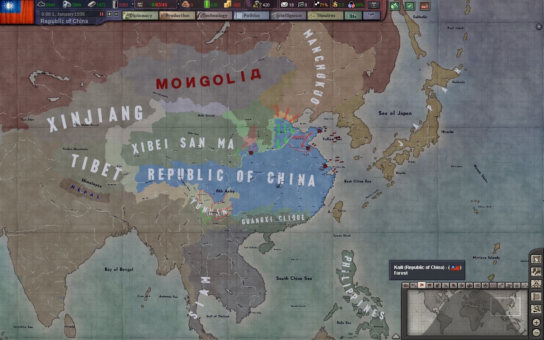 BlackICE 8 6] Republic of China AAR - Episode 1: Prelude