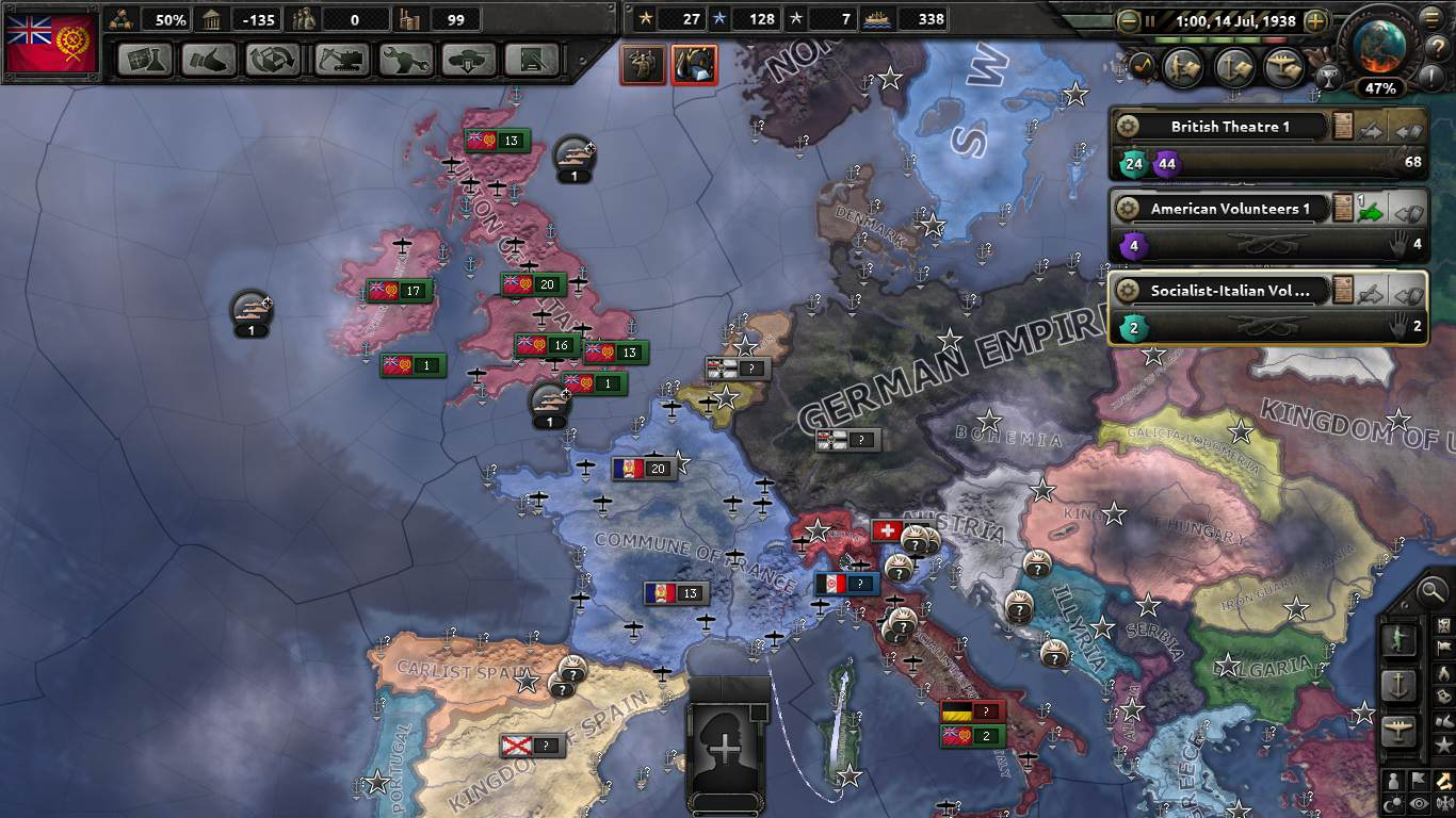 Homage to Britannia: An HOI4 Kaiserreich AAR | Part Four