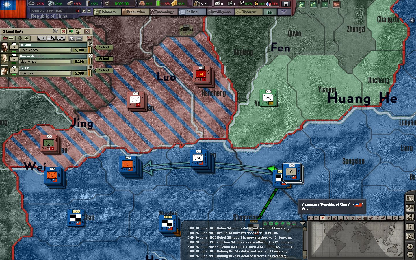 BlackICE 8 6] Republic of China AAR - Episode 2: Southern