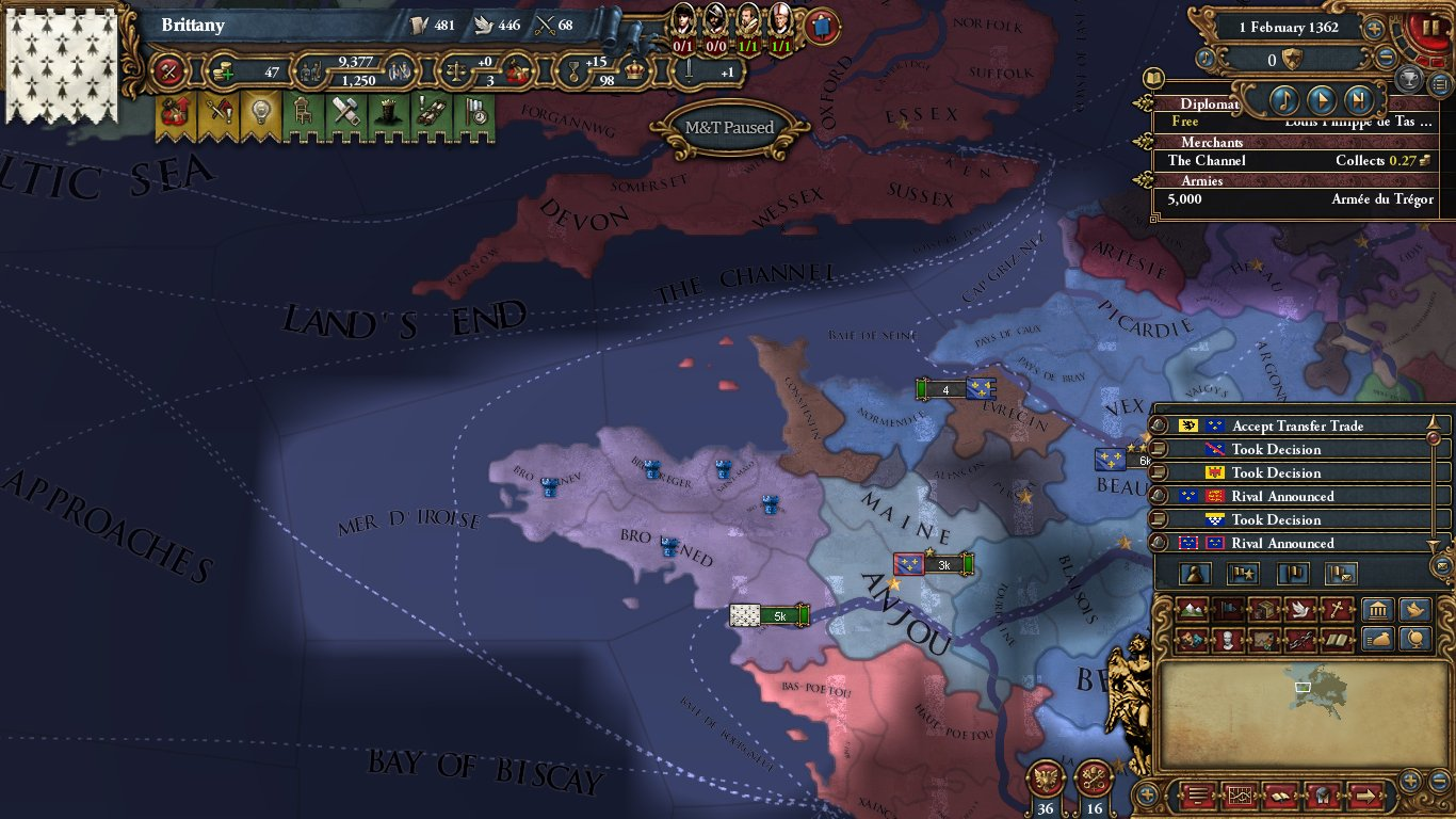 MEIOU&Taxes 2 0 Brittany AAR/Mod Showcase -- Part 1: War of