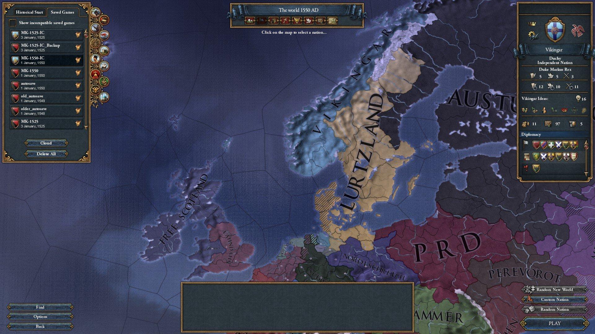 EUIV - Amaranthine Invitational #5 (1550) - After Action Report