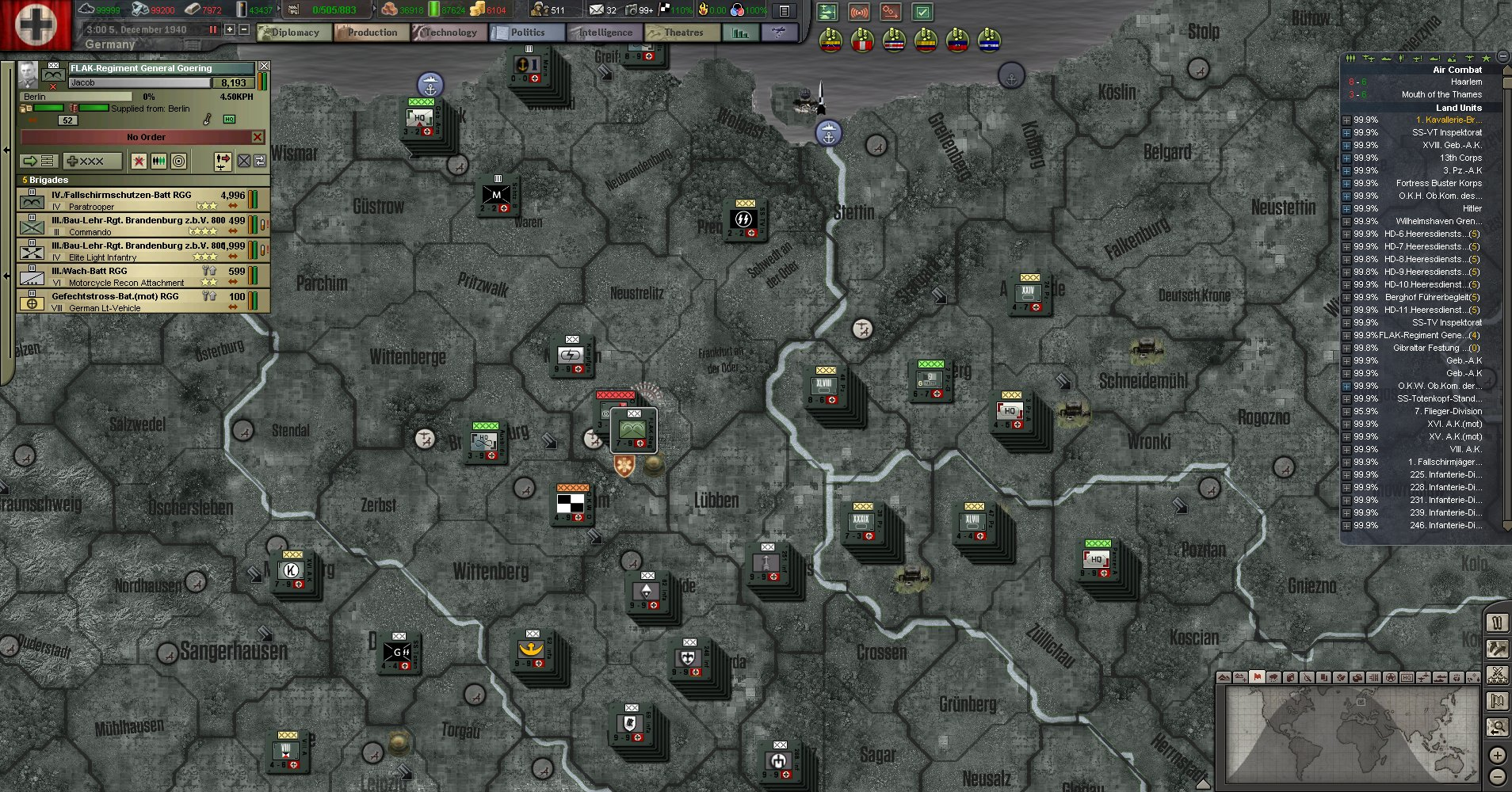 The Thousand Year Reich : Chapter 3, The Battle For the