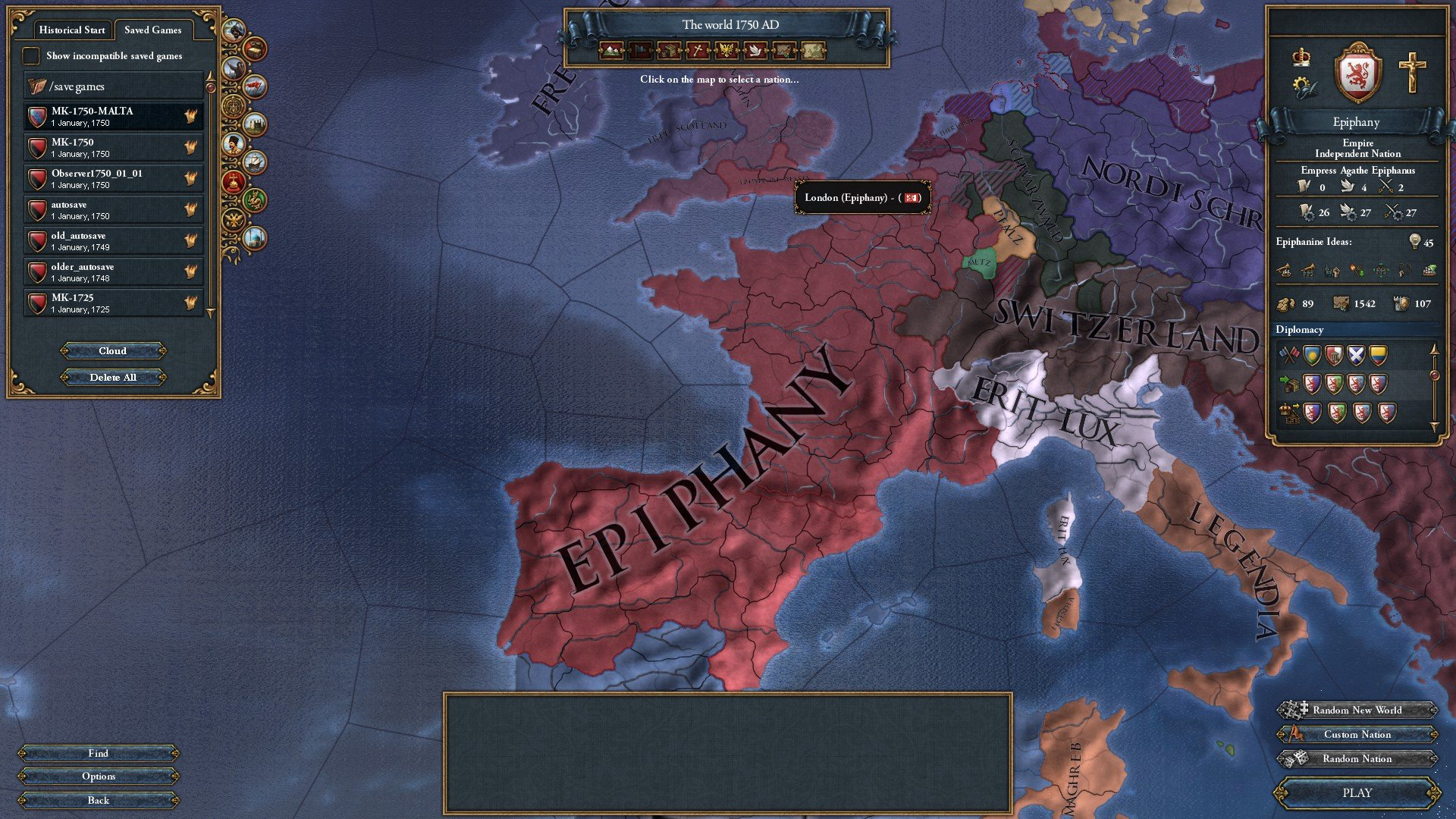 Subjugate France Eu4