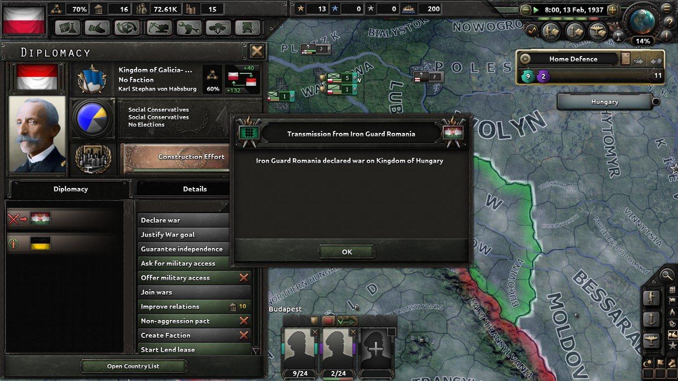 A Broken Deal, A Broken Nation: Poland, February 1937 -June