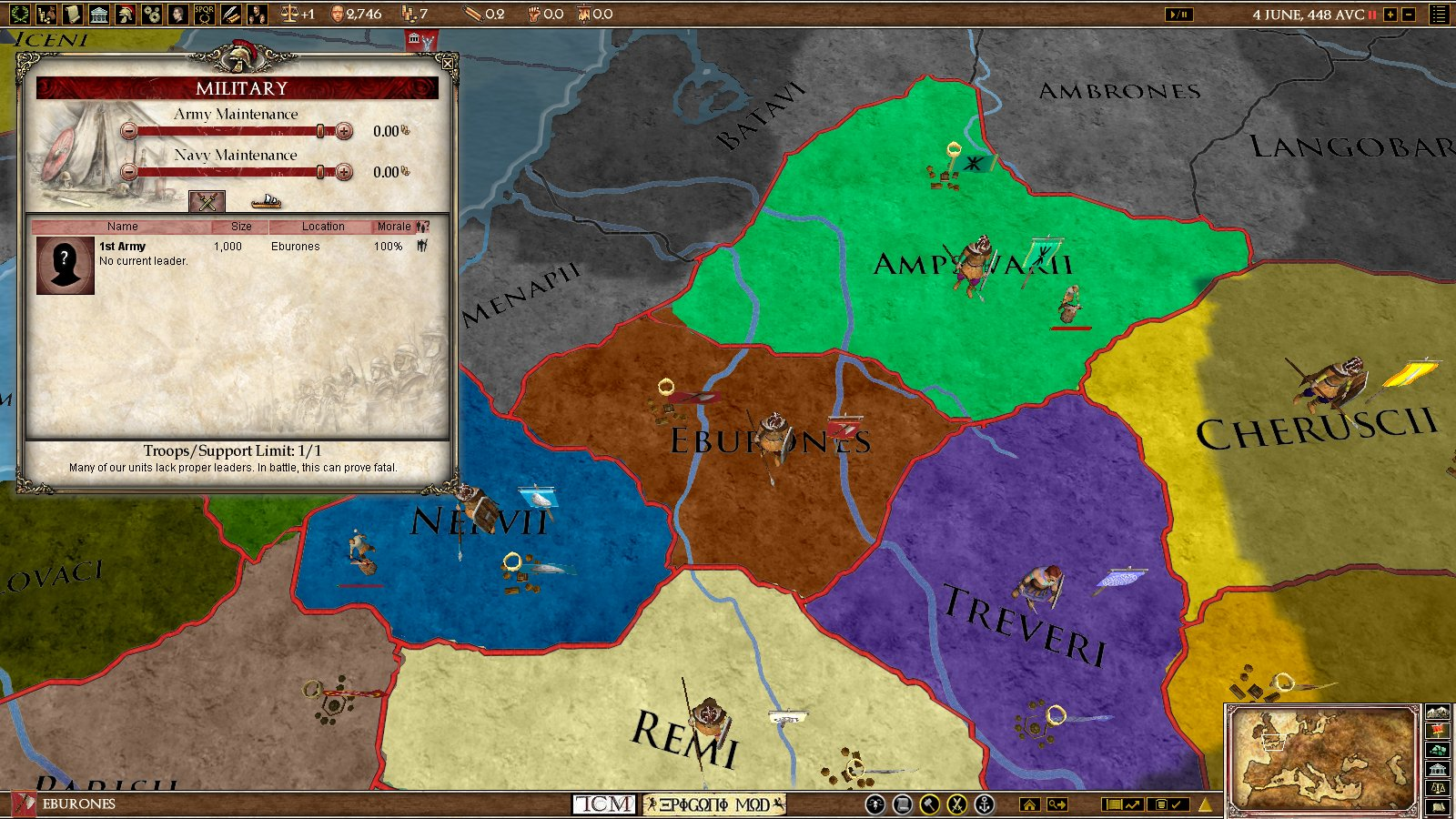 Germanic Legacy EUROME AAR Part Celtic Disapproval After - Eu rome map